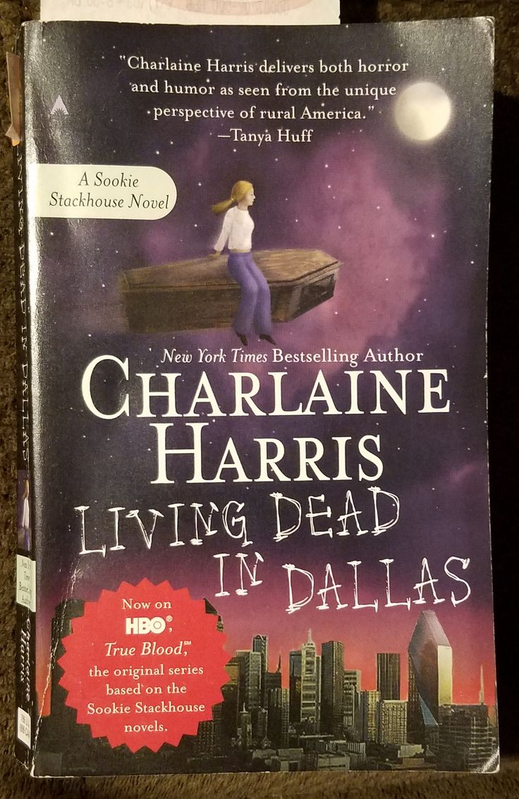 Charlaine Harris '�  Living Dead In Dallas (2002) This Is The 2nd Book