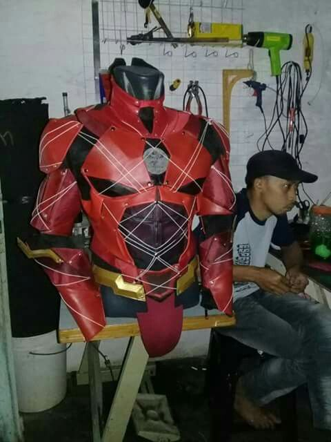 justice league the flash costume/cosplay