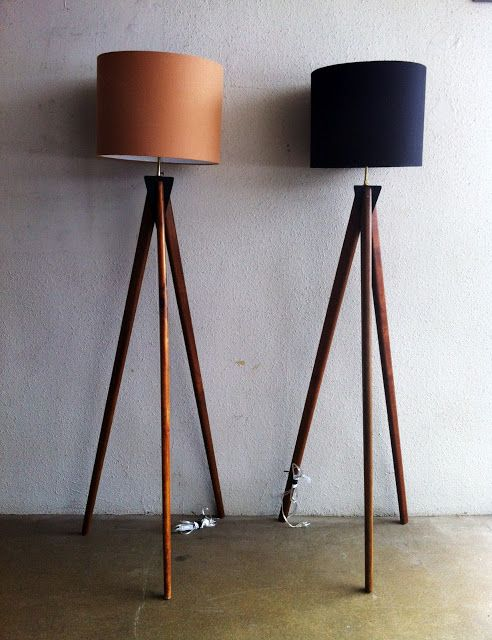 Scandinavian Inspired Lamps - Tripod Lamp