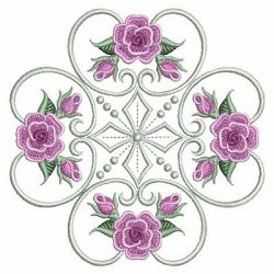 Pearl Roses Quilt 8, 2 - 3 Sizes! | What's New | Machine Embroidery Designs | SWAKembroidery.com Ace Points Embroidery