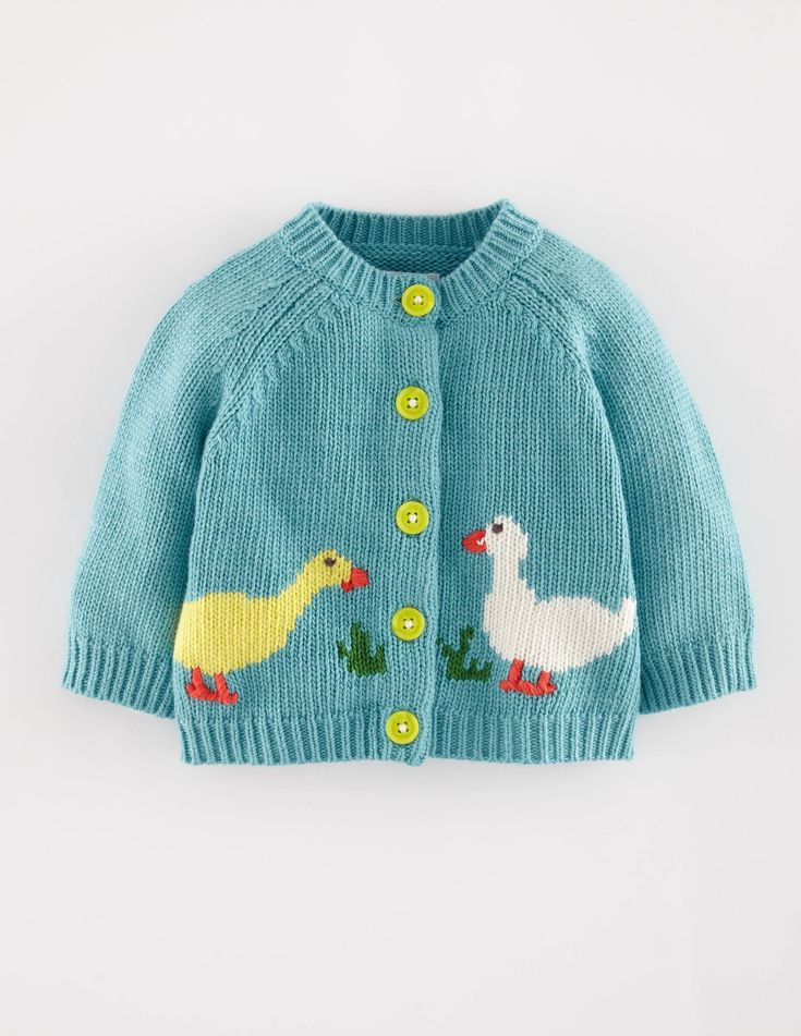 My Favourite Intarsia Cardigan 71399 Cardigans at Boden