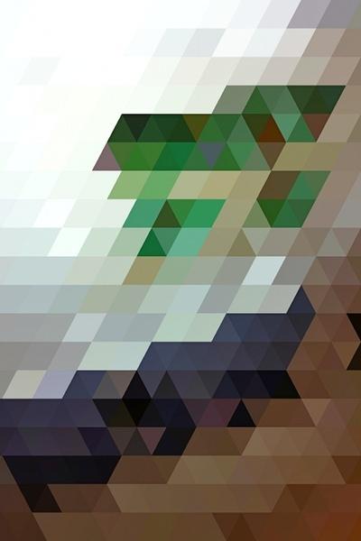 Corner Pattern  by Allan Redd