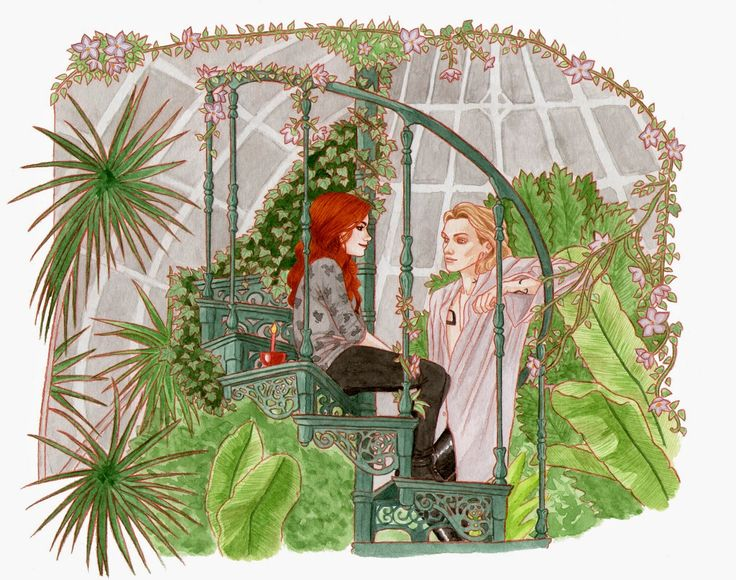TMI 30 day challenge. Day 9. Most favorite chapter in CoB. Chapter with the greenhouse scene.