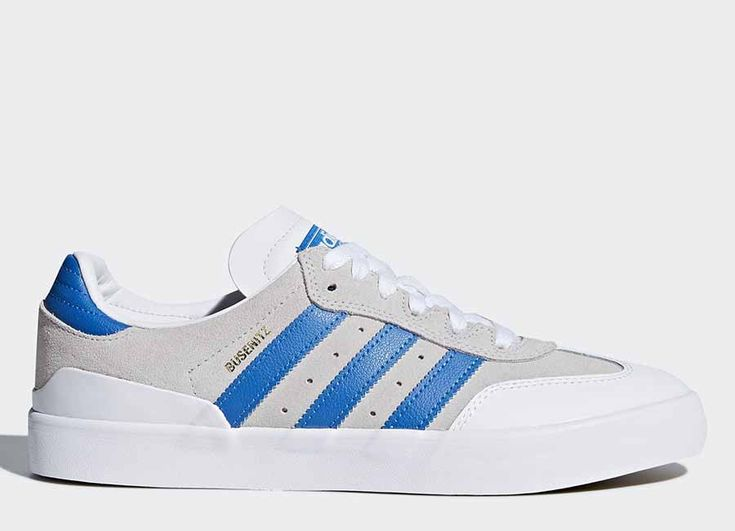 #football #soccer #futbol #fussbal Adidas Busenitz Vulc RX Shoes - Crystal White / Bluebird / Ftwr White