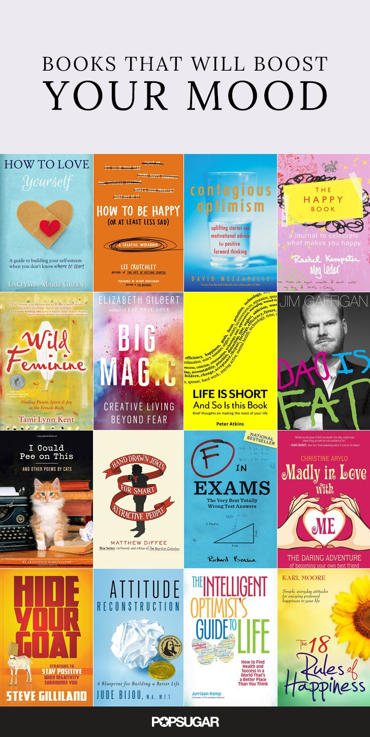If you're already feeling a bit on the gloomy side, it's not the best idea to crack open a dreary read. However, we do recommend you immerse yourself in a happy one!