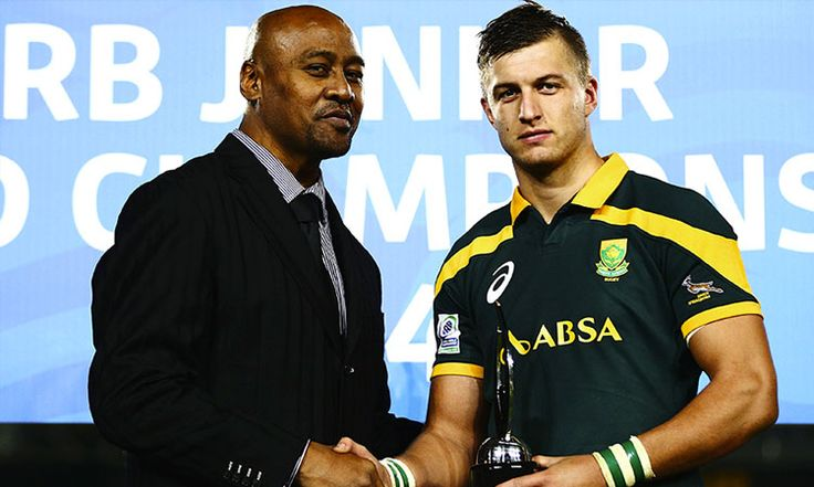 World Junior Player of the Year Earns Springbok Call Up http://j.mp/1sz3YjT #JWC2014 #SArugby #BabyBoks #HandrePollard
