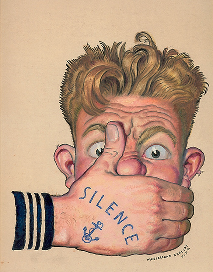 McClelland Barclay: Anchors, Loo Lips, Poster, Mcclelland Barclay, Loose Lips, Lips Sinks, Sinks Ships, Tattoo, The Navy