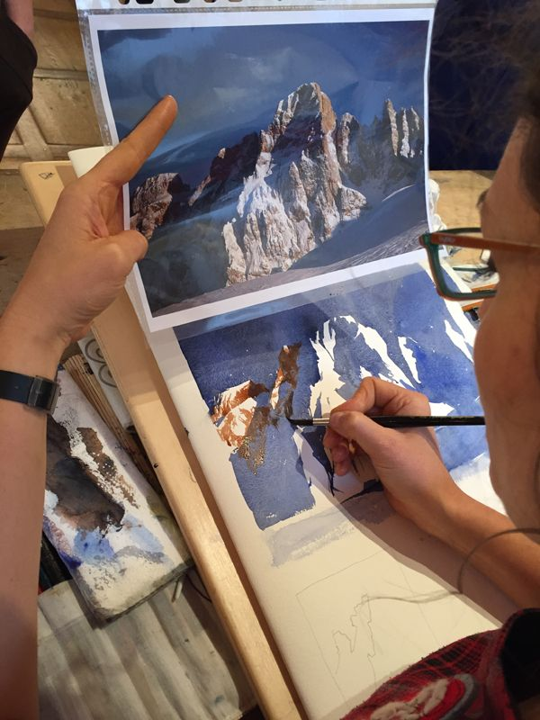 13-14 dicembre Rocce e sassi. Paesaggio di montagna con Silvia De Basiani www.silviadebastiani.it