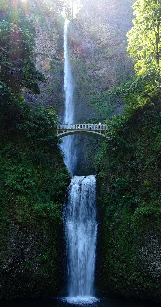 Multnomah Falls - Add this to your travel itinerary when visiting Portland Oregon