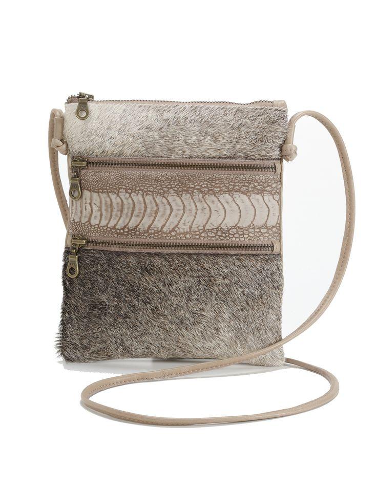 Nguni Leather Handbags - African Creative