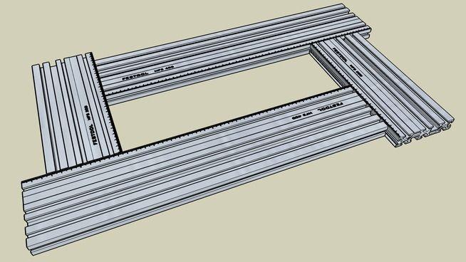 Festool Router Jig MFS400 - 3D Warehouse