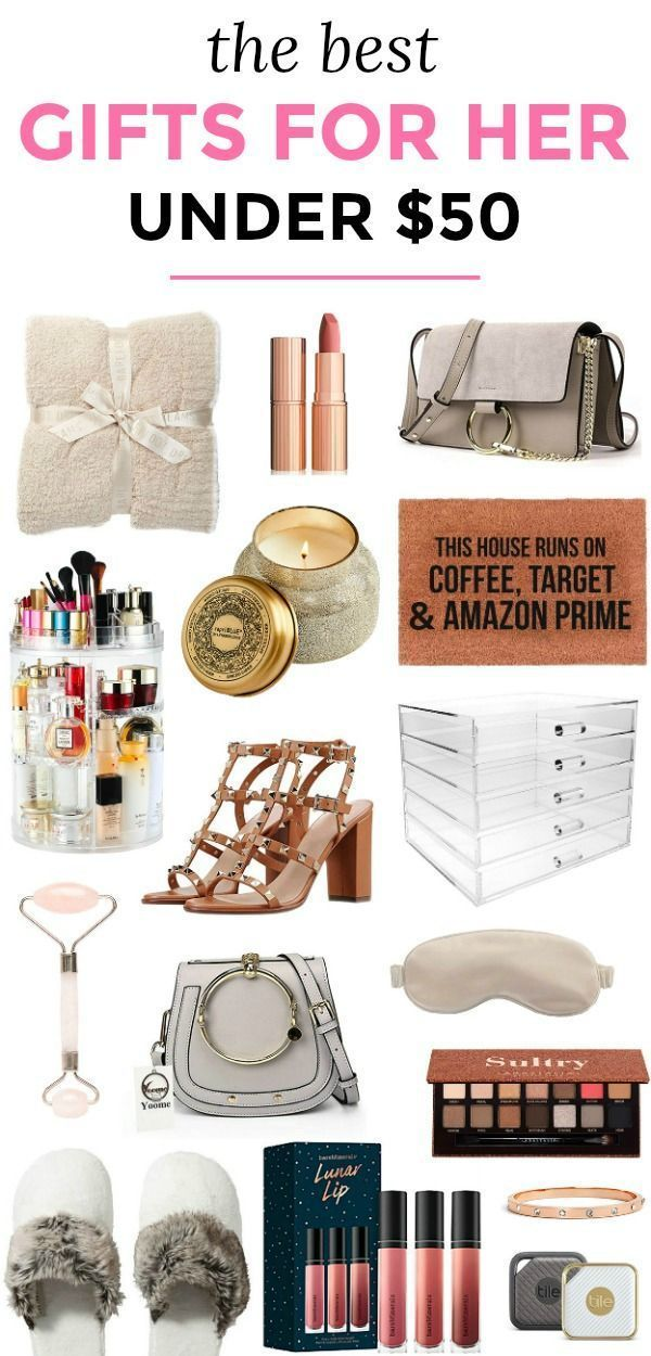 The Best Gift Ideas For Women Under 50 That She S Guaranteed To Love No Matter Who You Re Shoppi Cool Gifts For Women Best Gifts For Mom Best Christmas Gifts