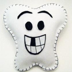 Tooth Fairy Pillow - put pocket on top/inside...close with zipper?
