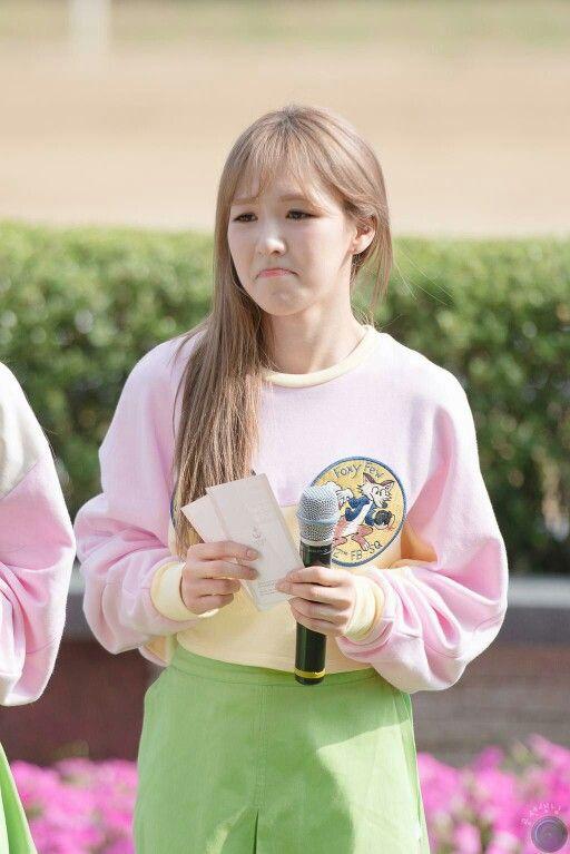 150621 레드벨벳 RED VELVET 웬디 WENDY @ Let's Run Concert in Busan