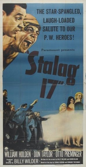 Stalag 17 (1953) movie #poster, #tshirt, #mousepad, #movieposters2