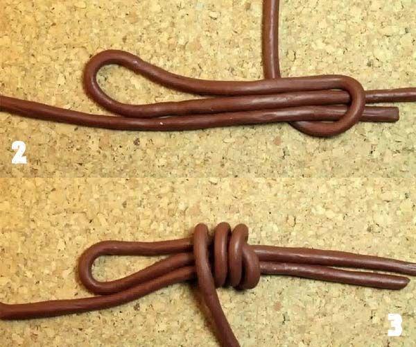 Cómo hacer nudos corredizos para collares y pulseras