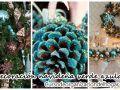 Decoración navideña 2016 verde azulado