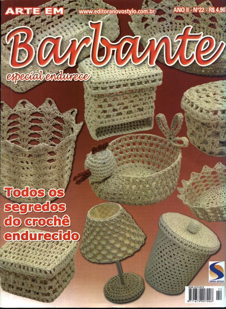 Revistas de crochet: Barbante