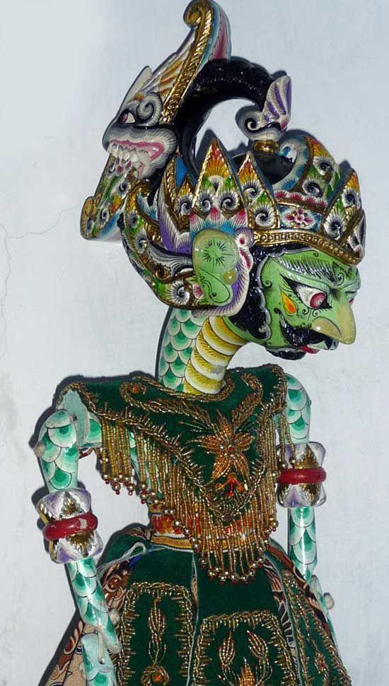 wow.. amazing paint job! Wayang | Home / Ragam Wayang Klasik / Wayang Golek / Antareja