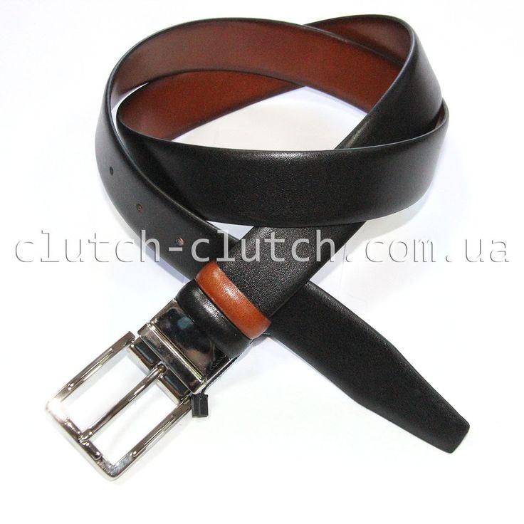 Ремень для брюк LMi 35 мм двусторонний гладкая кожа – купить в интернет-магазине clutch-clutch.com.ua