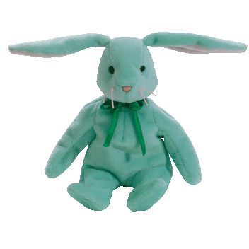 Hippity the mint bunny ty beanie baby - retired