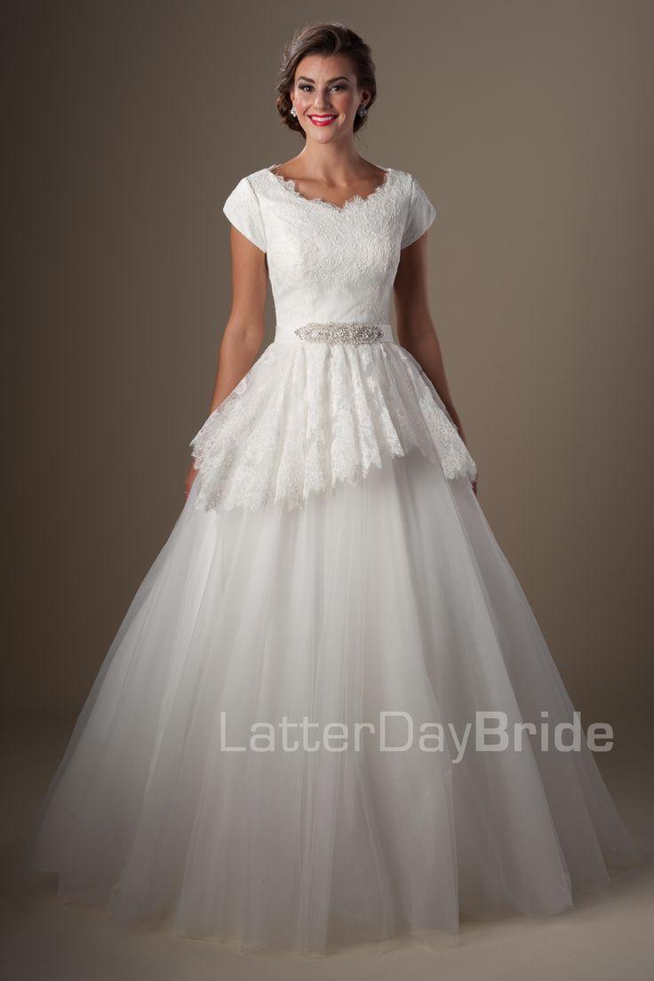 Best 25 latter day bride ideas on pinterest modest for Latter day bride wedding dresses