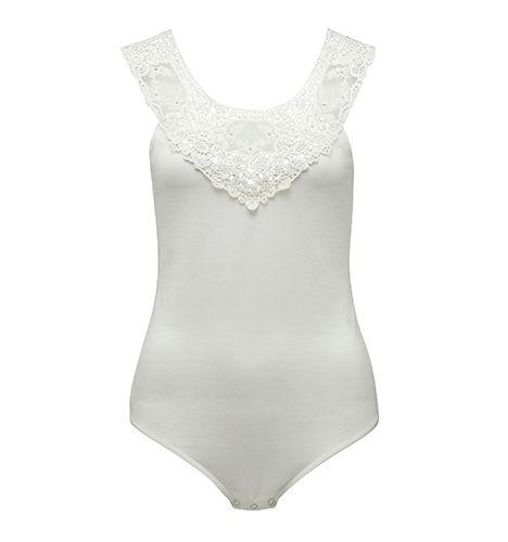 Forever New AMALIA LACE Bodysuit