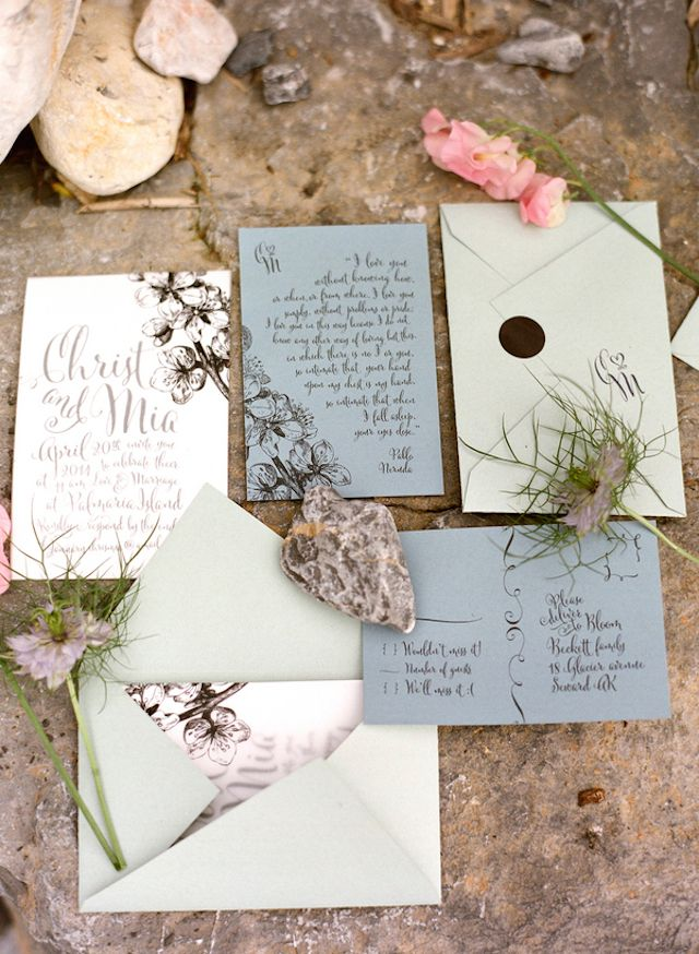 Invitation Design by Cut and Paste