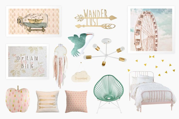 Dream Big Little One : Girly Room Decor