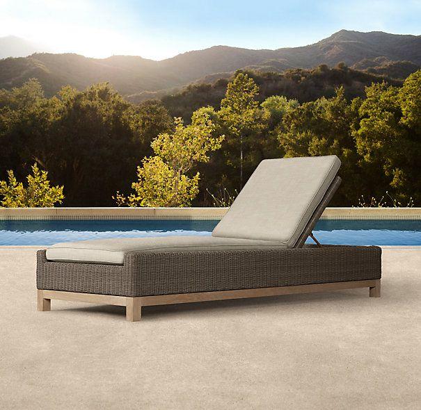 Malibu Chaise. Chaise CushionsRestoration HardwareOutdoor FurnitureCatalogFinal  ...