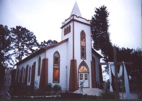 St. Mary's Catholic Church   Plantersville,Tx