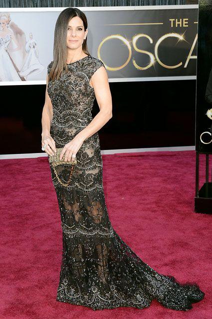 Sandra Bullock. Best dressed at Oscars IMO.