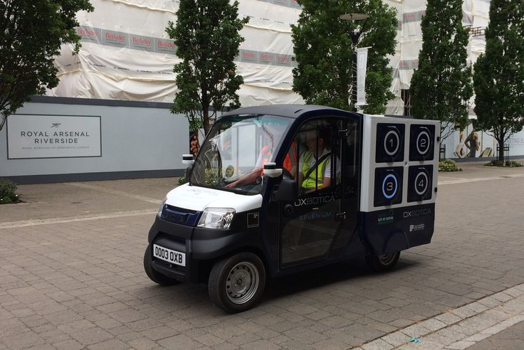 Ocado launches self-driving grocery delivery service