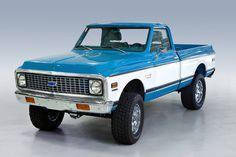 1972 Chevrolet C10 Short Wheel Base Cheyenne Super 4 X 4