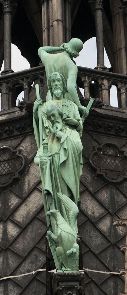Notre-Dame de Paris detalj | Detail from Notre-Dame de Paris… | Flickr - Photo Sharing!