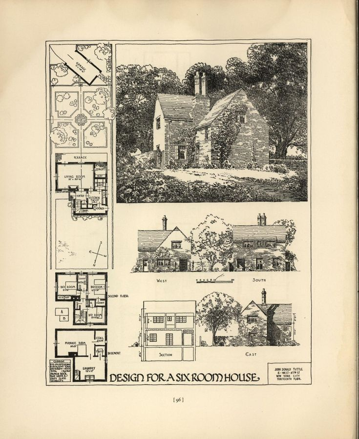 244 best images about House Plans 1900 - 1930s on ...