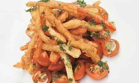 Prepare esta saludable y exquisita receta para acompañar su menú del día.