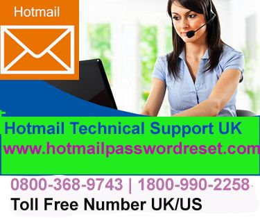 Hotmail provides the many features on Hotmail email services. Hotmail free email service is used by more than 4 millions customers around the globe.you want to know more about features on their account , then get Hotmail Technical Support UK service with the Help of Hotmail Password Reset. http://www.hotmailpasswordreset.com/