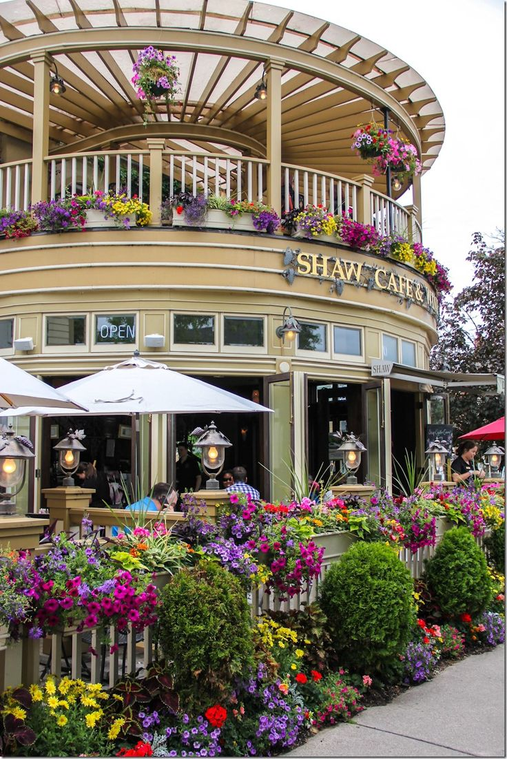 Niagara on the Lake, Canada  Many memories going here with my grandparents when I was younger.