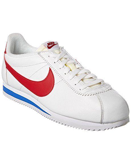 Nike Cortez Weiß Silber