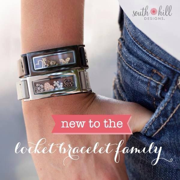 super fun locket bracelets.....place the charms of your choice inside and change them up whenever the mood strikes www.southhilldesigns.com/holdthevision www.facebook.com/designedbyyoulockets