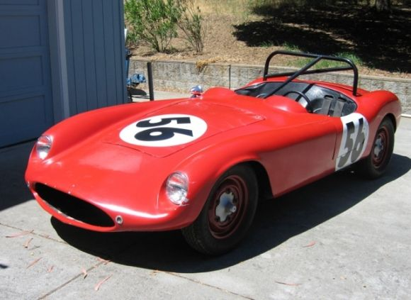 1955 Devin 295 Porsche Roadster Special  Porsche-Powered  This 1955 Devin 295 Roadster (Chassis 10846101) was acquired by the seller in the running condition shown here, and he says that the car was raced on the West Coast and its last track appearance was at Watkins Glen in the fall of 2004.