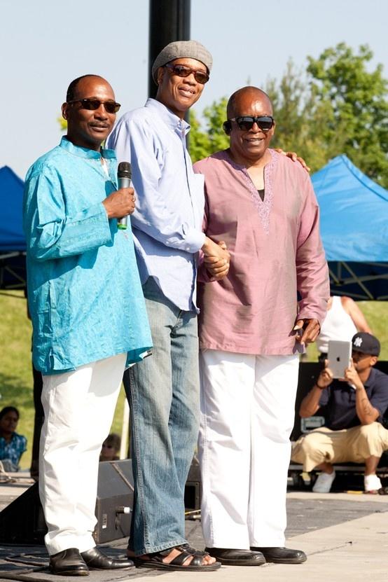 G98.7FM Look forward to G at #MIDF 2013 G98.7FM in da house 2012 Luther Hansraj,Fitzroy Gordon & Muhtadi Thomas