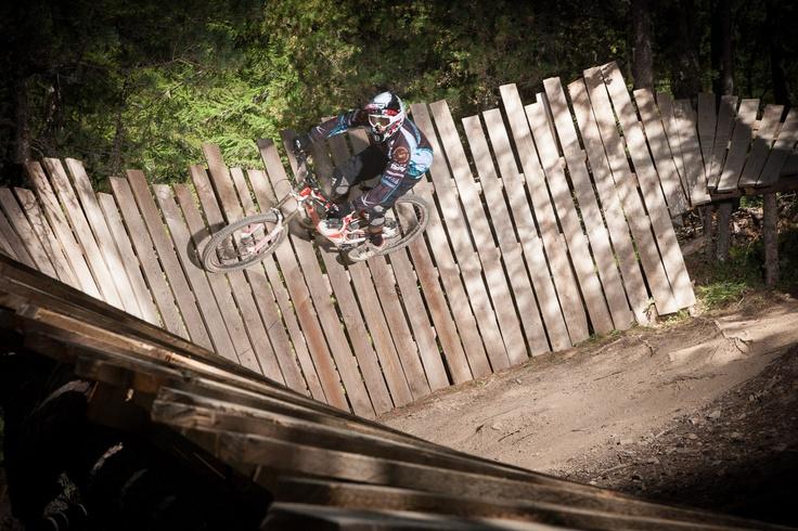 VTT Les Orres Bike park - crédit Jean-Luc Armand