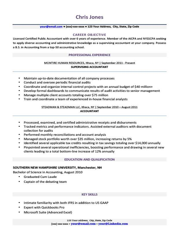 Amethyst Purple Wolverine Resume Template Basic Resume Resume Examples Good Objective For Resume