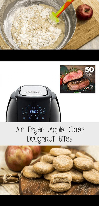 Air Fryer Apple Cider Doughnut Bites Donut recipes
