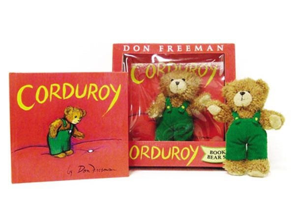 Little Obsessed - #Corduroy Book and Bear Set, $15.99 (http://www.littleobsessed.com/corduroy-book-and-bear-set/)