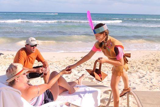 Специальные развлечения каждый день: мы стараемся, чтобы гостям было весело!  http://rivieramaya.grandvelas.com/russian/