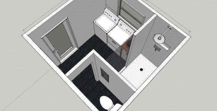 Bath Laundry Room Combo   Bathroom/Laundry Remodel