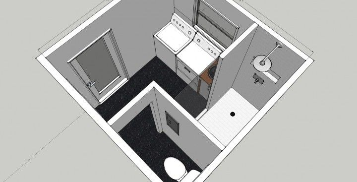 Bath Laundry Room Combo | Bathroom/Laundry Remodel. Possible?? I was imagining something more narrow...